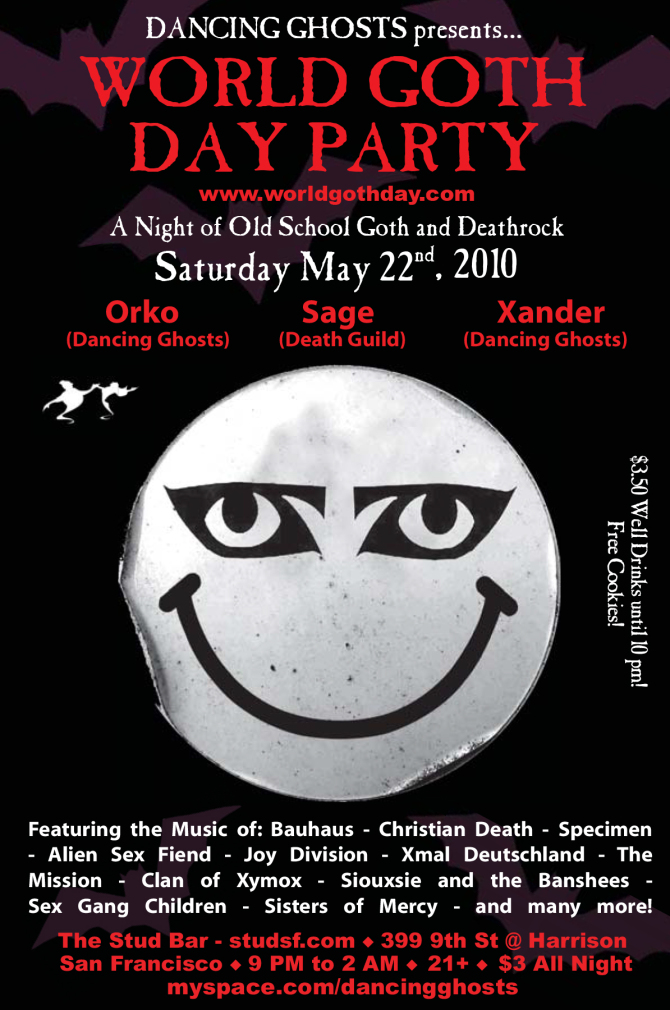 world Goth Day Party flier.indd