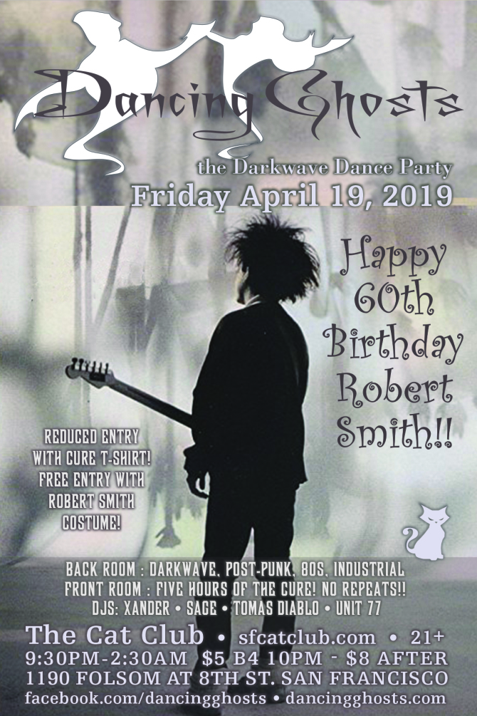 65f5d952 Robert Smith 60th Birthday Party : All Cure, All Night!